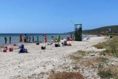 Una lunga distesa di sabbia